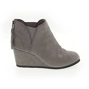 Maurices Suede Ankle Boots